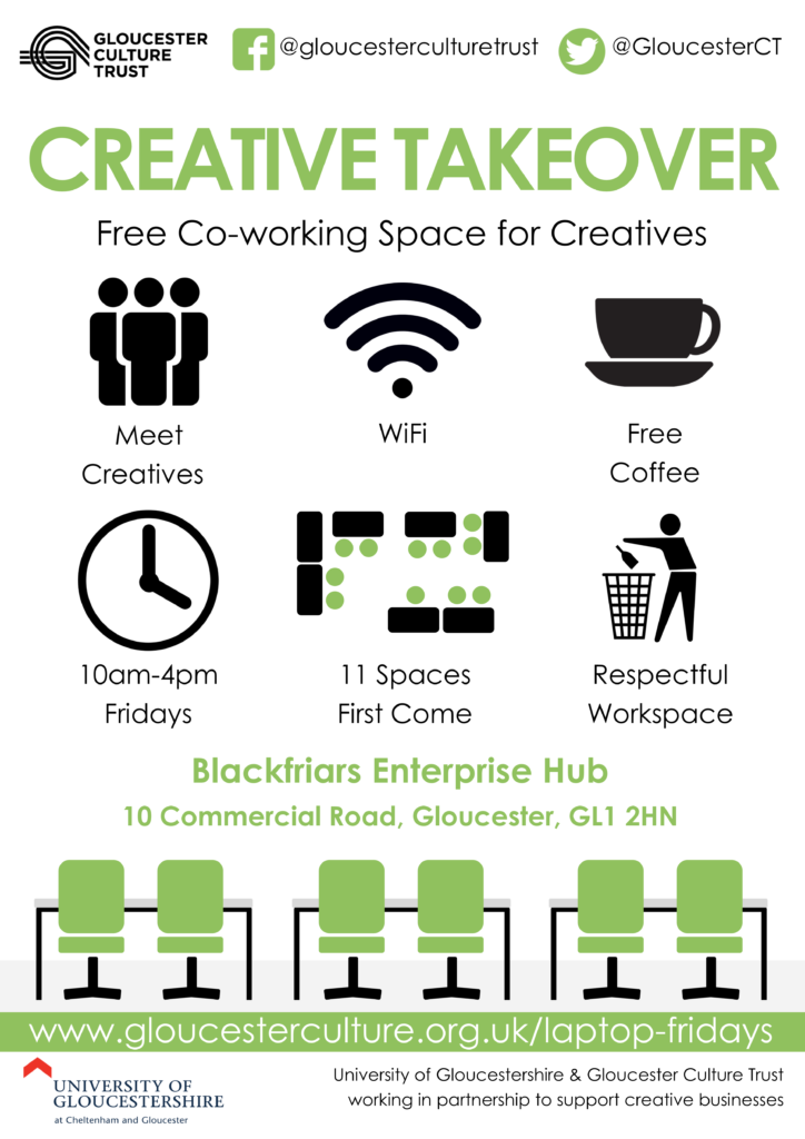 Creative Takeover Infographic